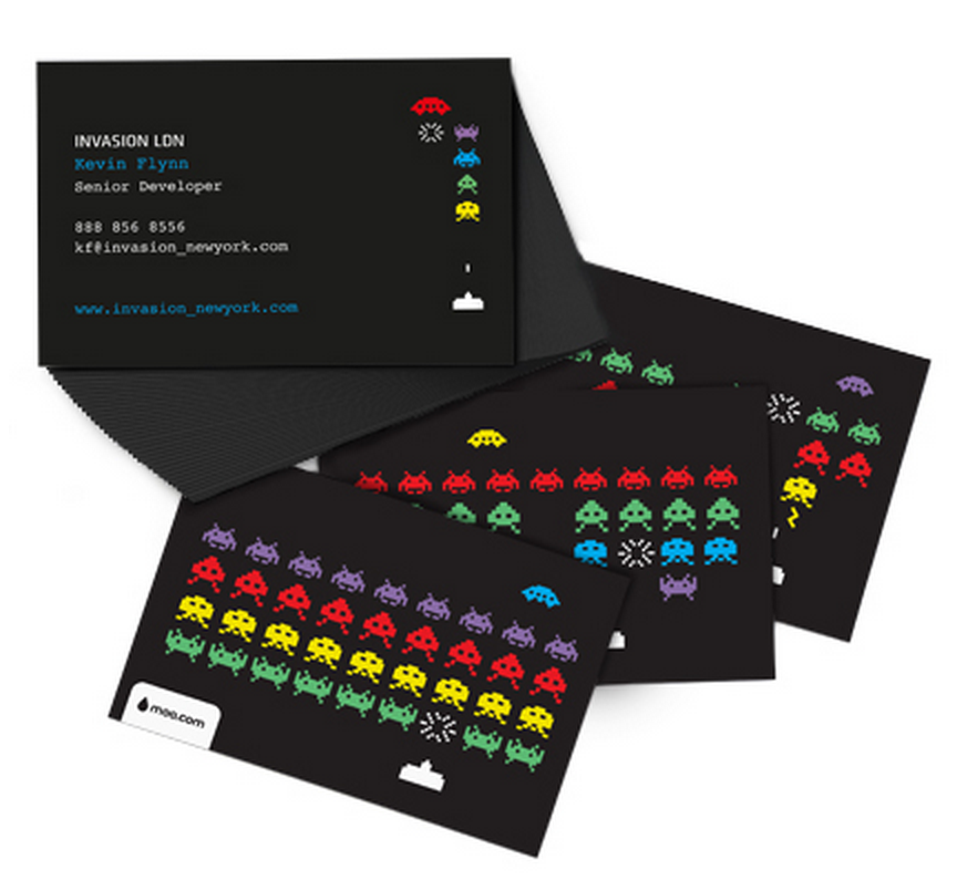 Get your 50 FREE Moo Business Cards